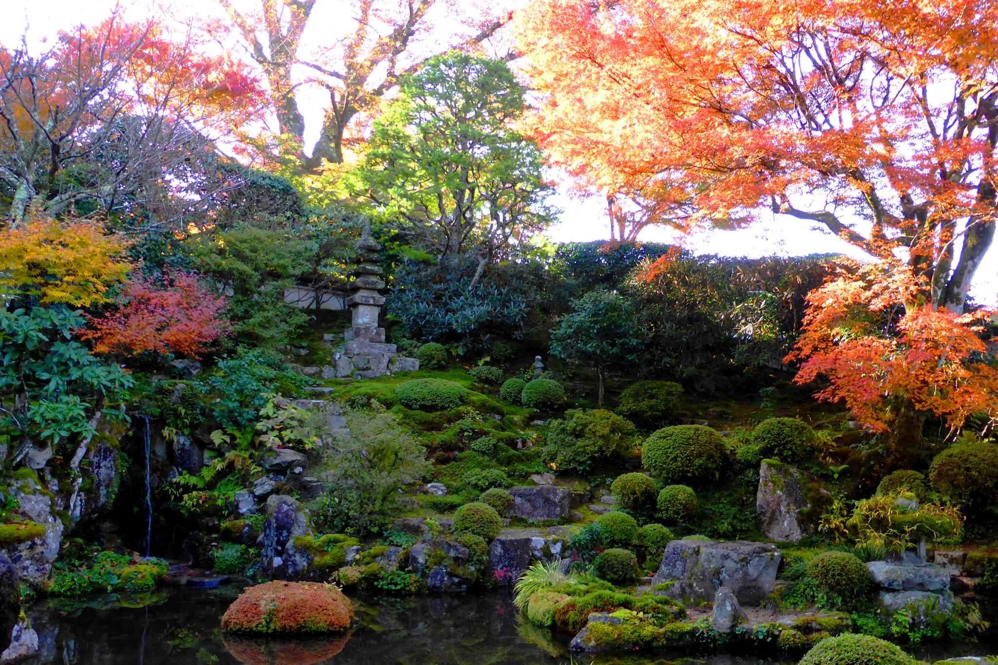 京都市左京区大原にある実光院の契心園