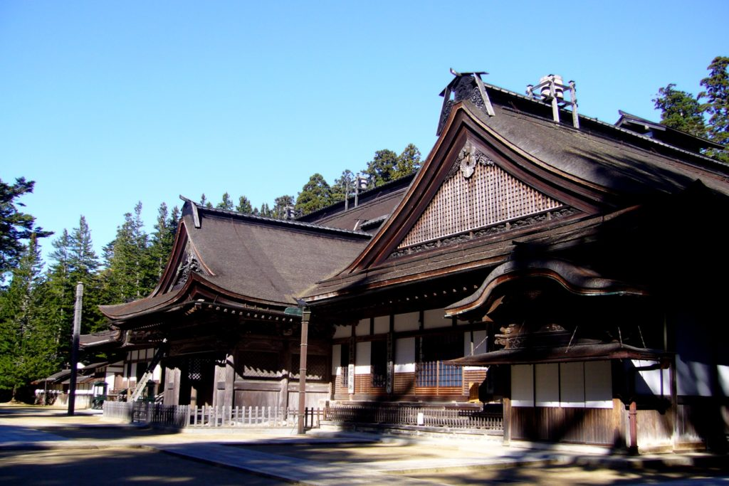 和歌山県伊都郡高野町にある金剛峯寺の主殿(秋・11月)
