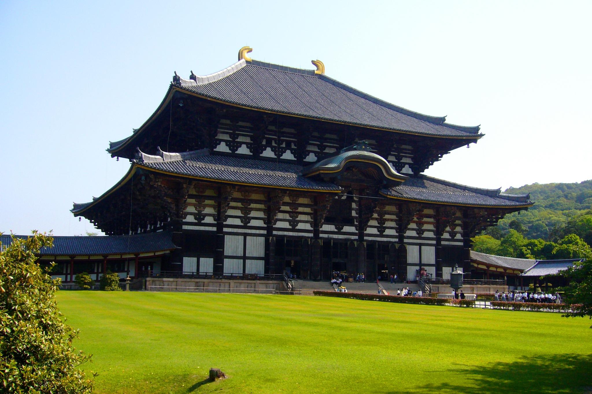 奈良市にある東大寺の大仏殿