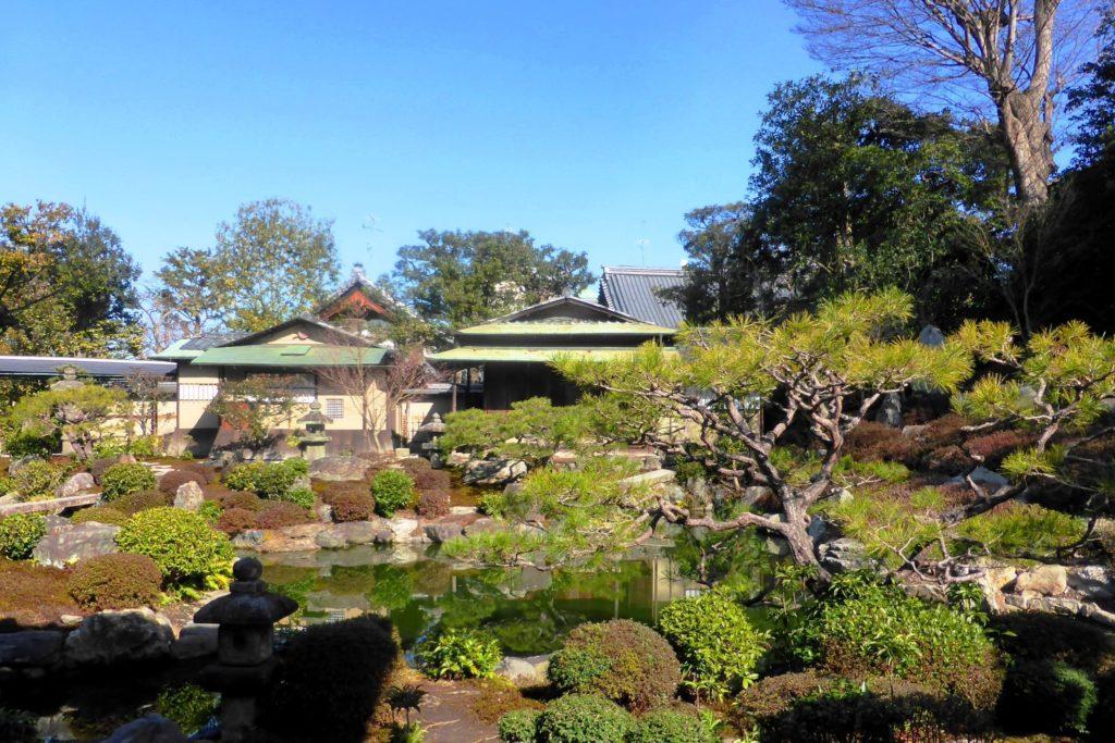 京都市東山区にある両足院の庭園
